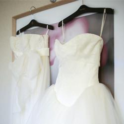 ドレス選びは縁と勢いと決断力