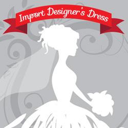 インポートデザイナーズドレス