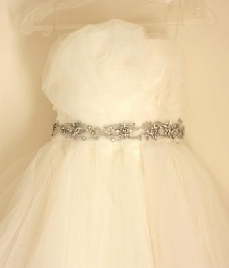 Marchesa 【Tulle Rosette Princess Gown・US2】