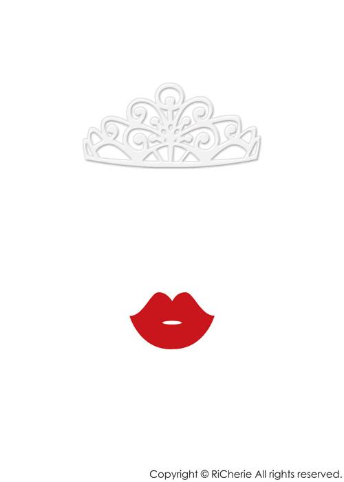印刷 pdf 印刷の仕方 : ティアラと唇のプリンセス ...