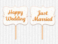 Happy Wedding・Just Married